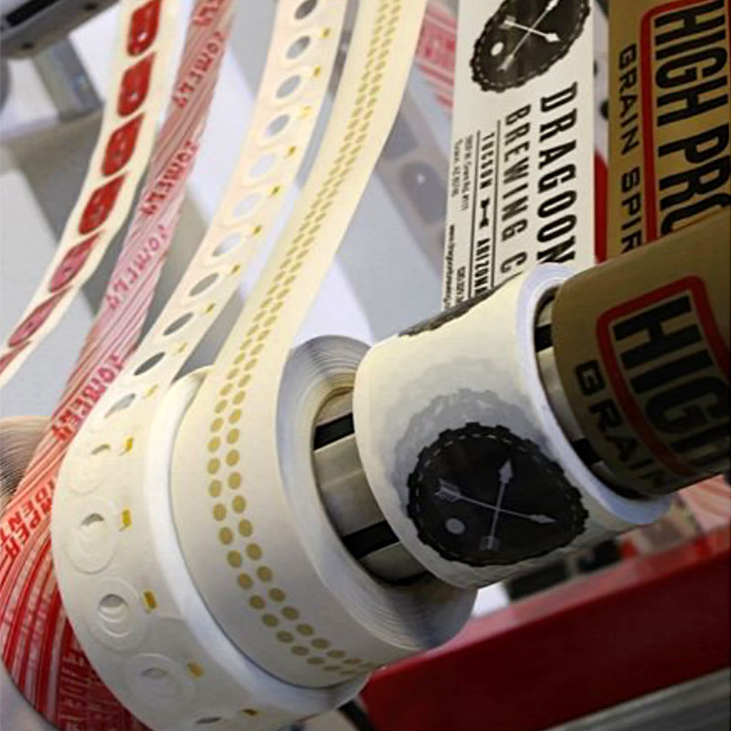 Rolls-printed